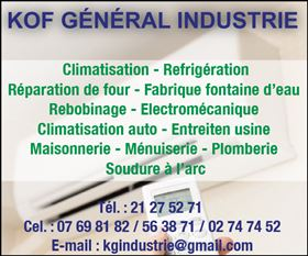 KOF GENERAL INDUSTRIE